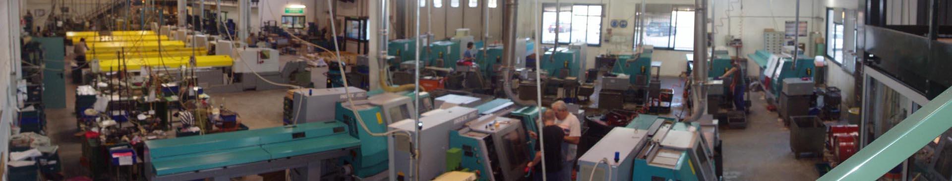 stabilimento produzione minuterie metalliche da barra